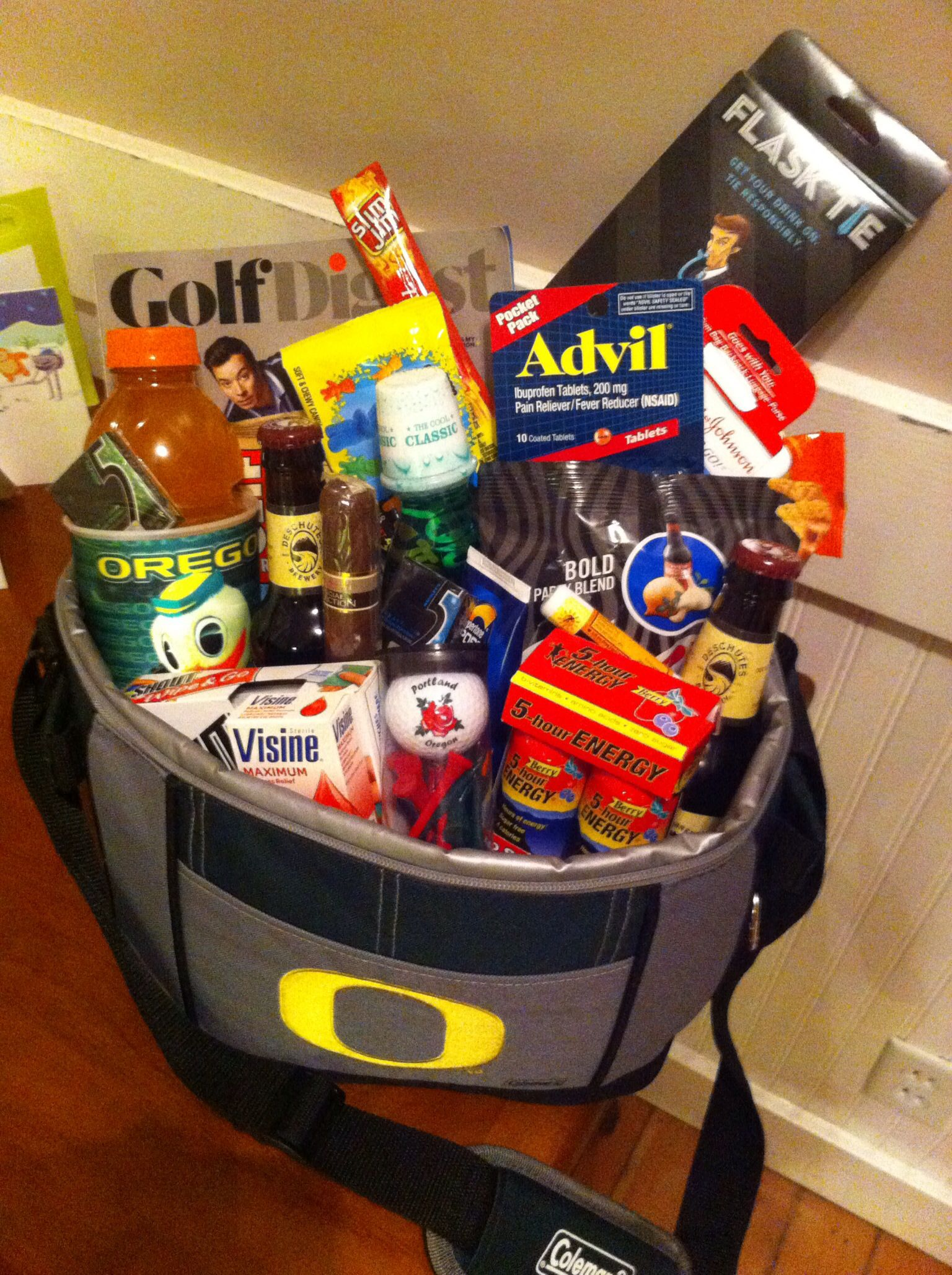 Bachelor party golf weekend survival kit for groom-to-be! | party ...