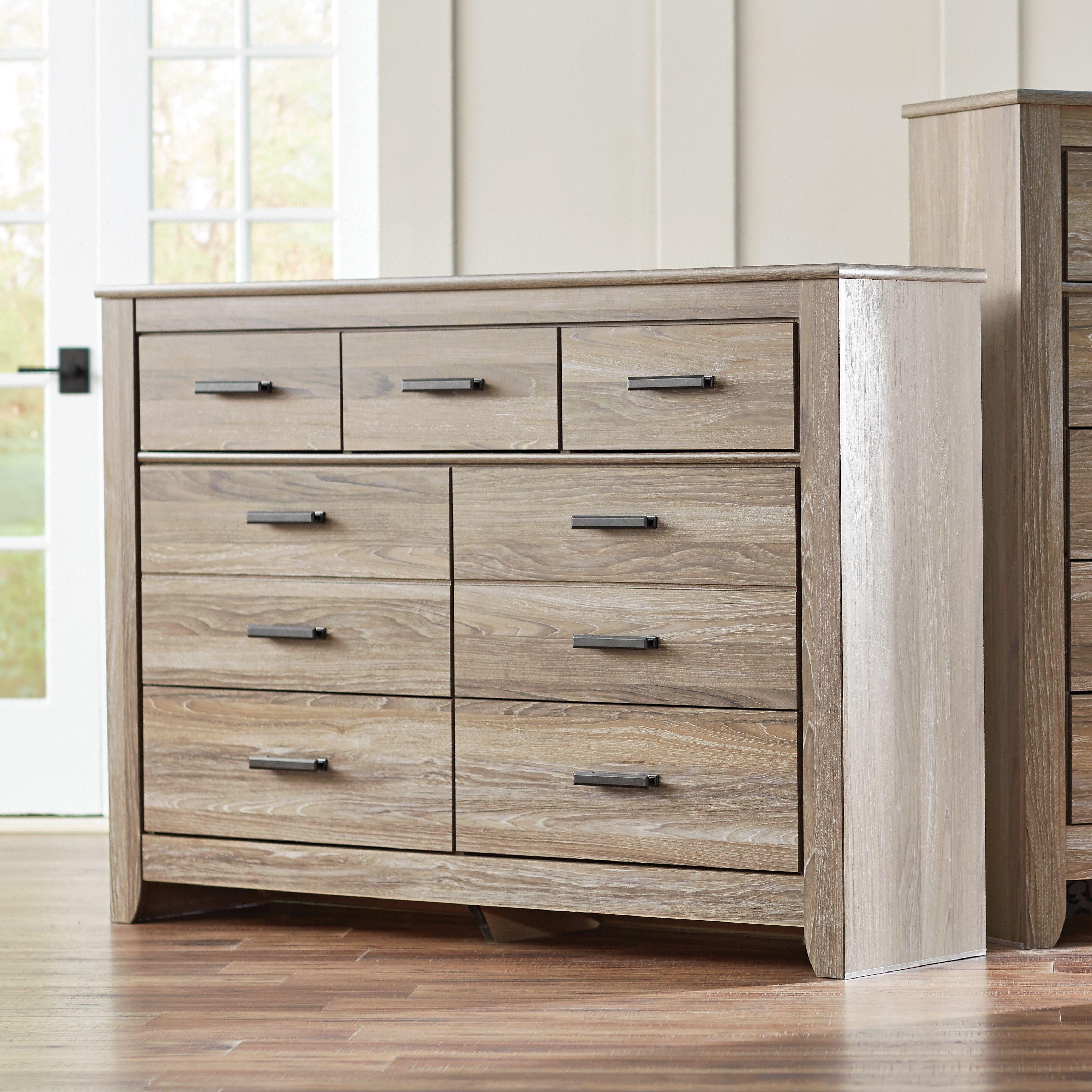 Herard 7 Drawer Dresser Cómoda shabby chic, Muebles de