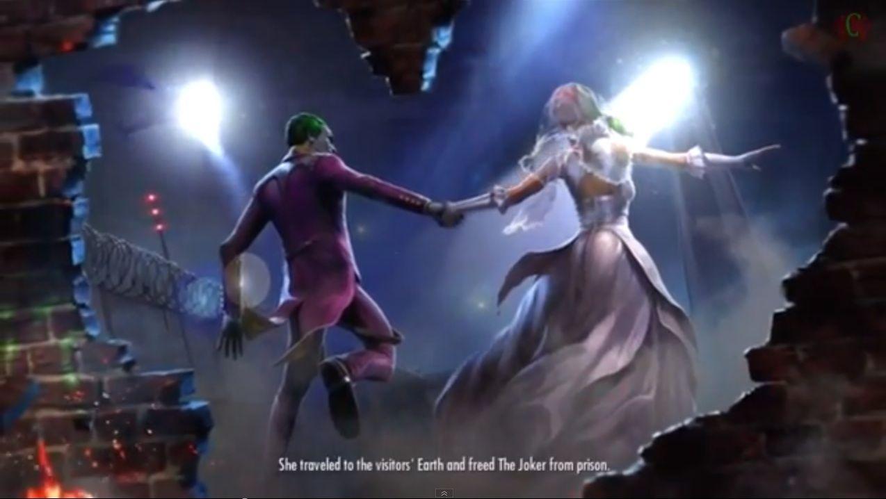Injustice Harley Quinn Wedding