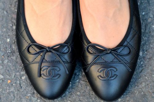 need: quilted chanel ballet flats