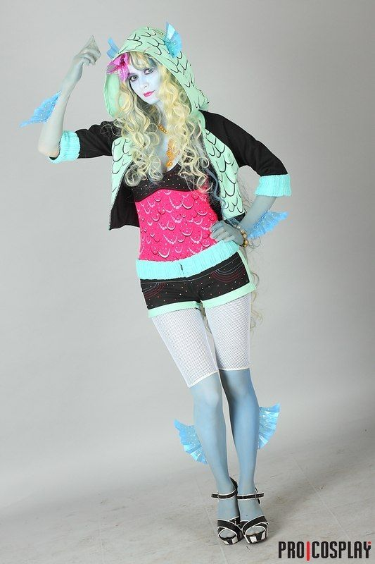 Monster High Lagoona Blue Kostuem.Pin On Cosplay