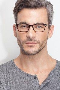 Dreamer - Rectangle Tortoise Frame Eyeglasses | Ey