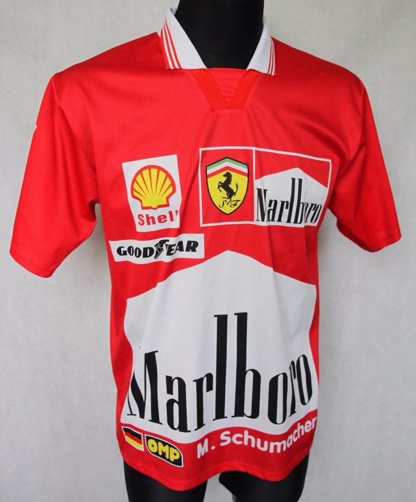 deb3224f60e Michael Schumacher, Ferrari F1, Vintage Football, Football Jerseys, Sports,  Hs Sports