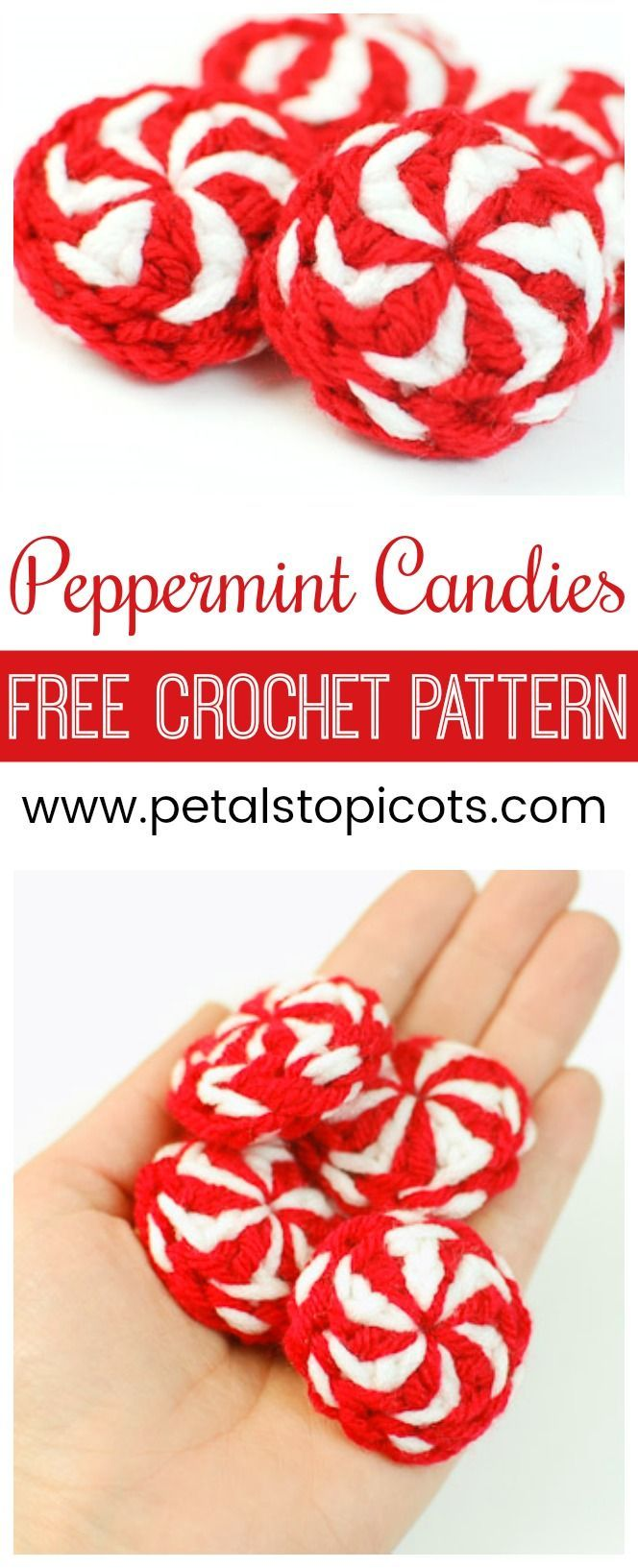 Peppermint Candy - Free Christmas Crochet Pattern | CrochetHolic ...