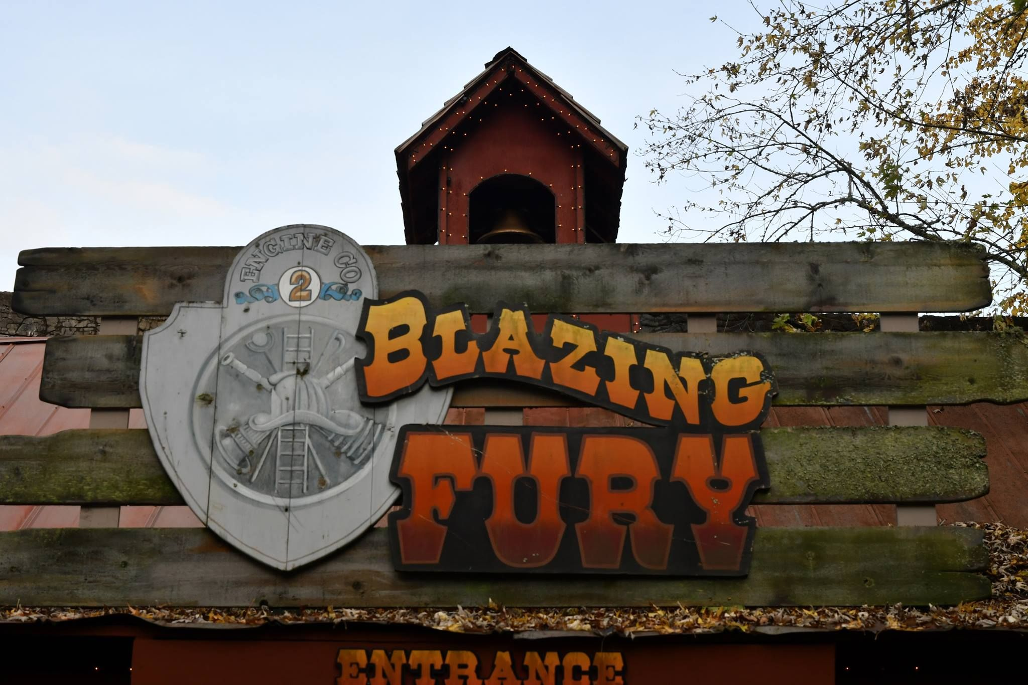 Blazing Fury Is A Steel Enclosed Roller Coaster At The