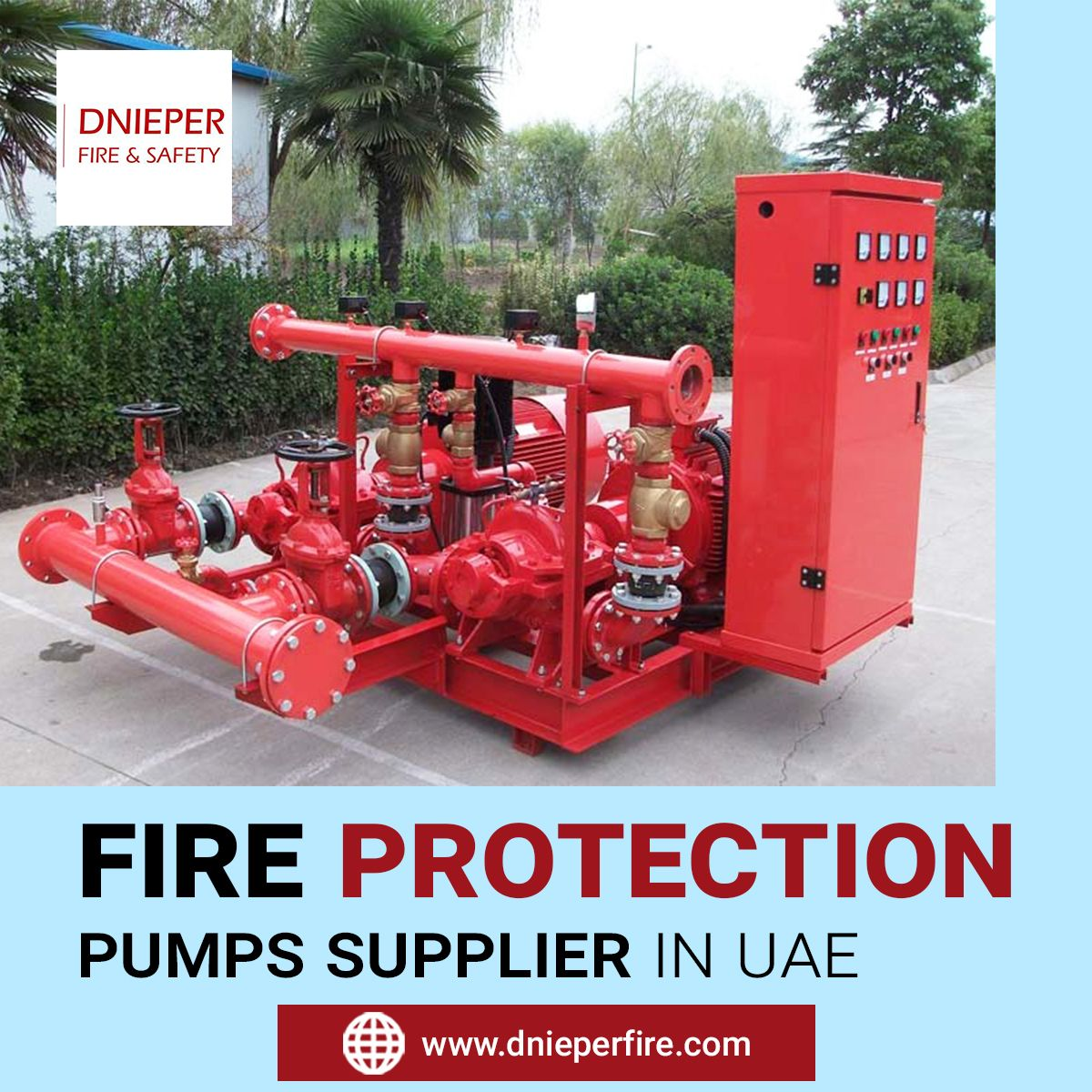 Dnieper ME is trusted and reliable fire protection