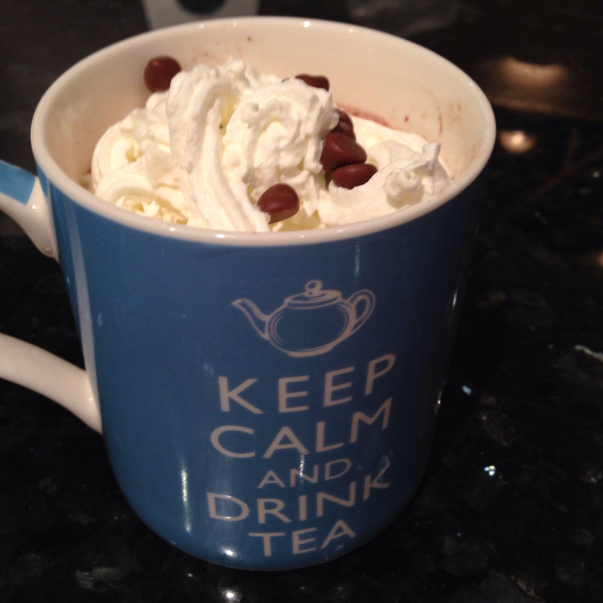 Hot chocolate I made!
