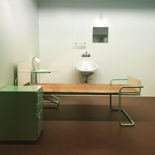 sanatorium paimio finland alvar aalto patientroom Interior Design