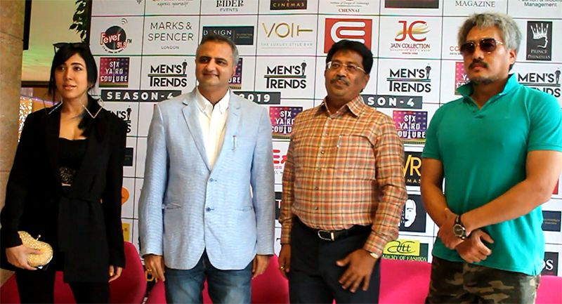 Chennai's Top Annual Fashion '6YC 19′ & MENS TRENDS 19' Season 4 Press Meet