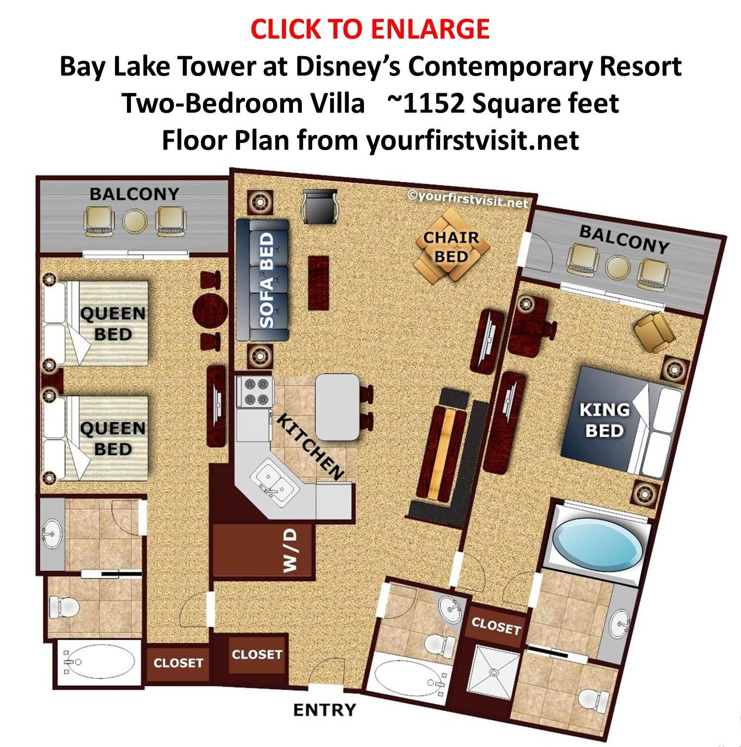 Review Bay Lake Tower at Disneys Contemporary Resort Page 4
