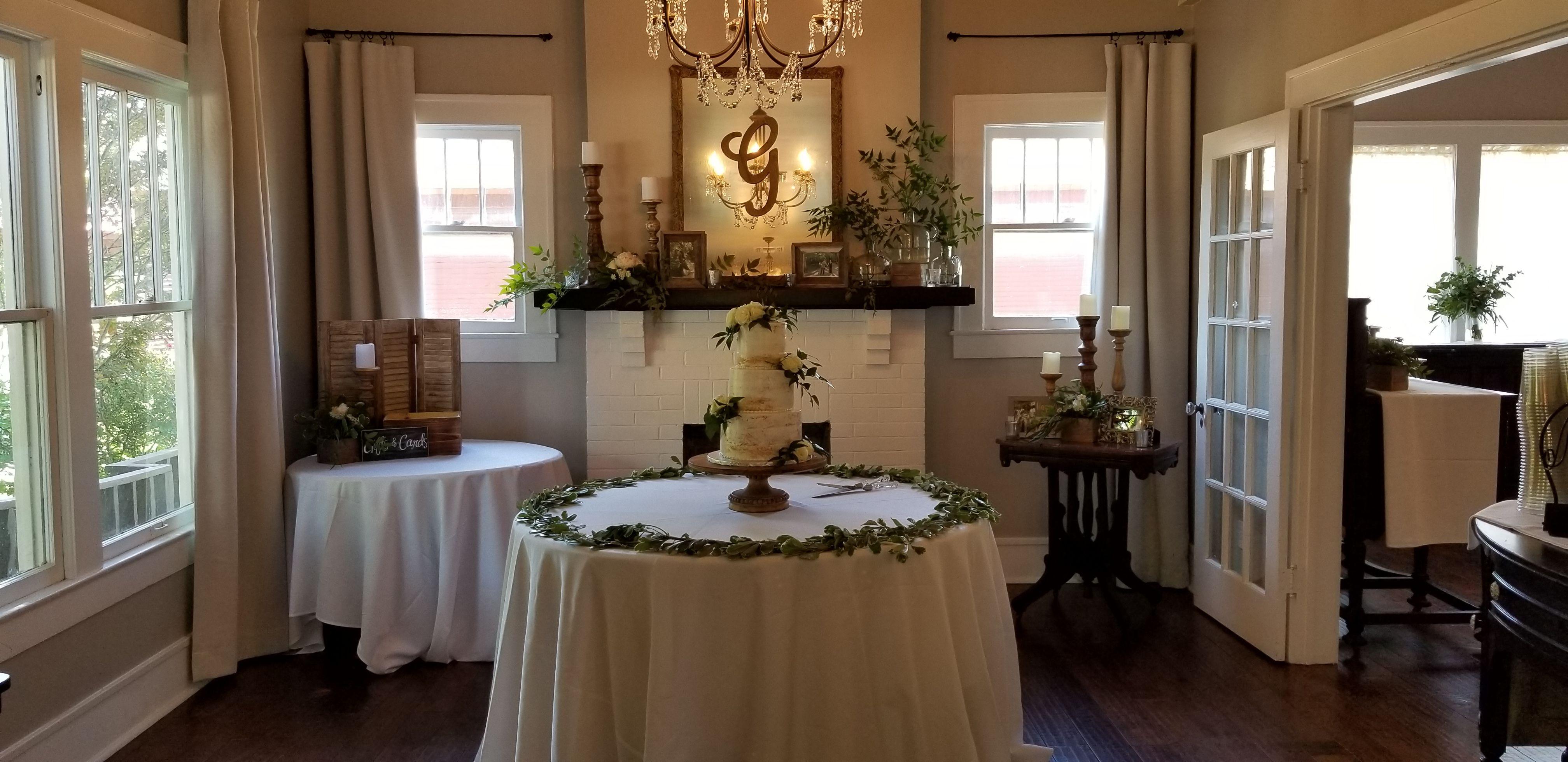 Mckinney wedding venue reception wedding reception