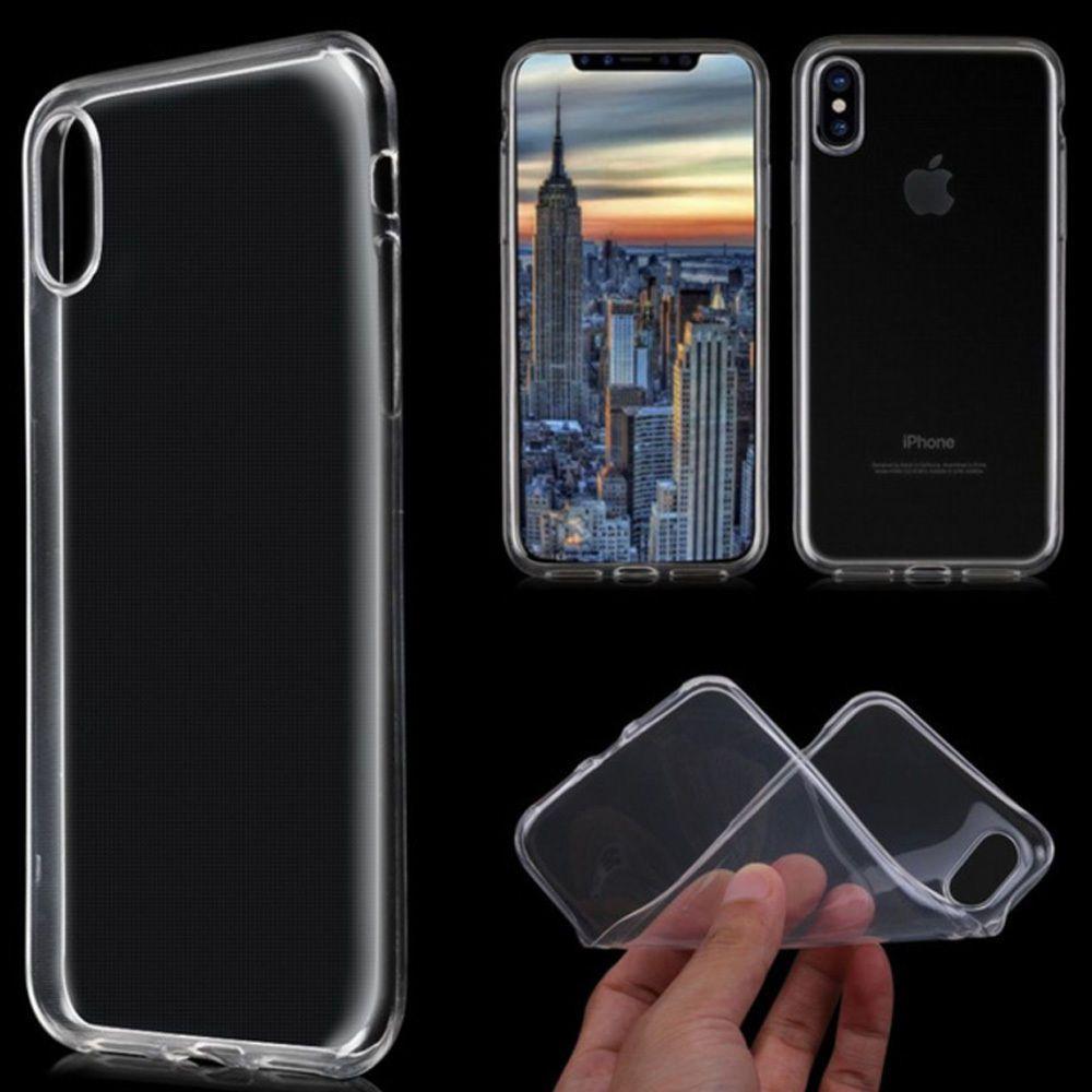 COVER IPHONE X Trasparente iPhone X Cover Silicone Ultra Slim
