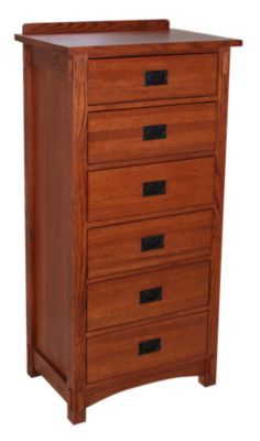 Superbe Homemakers Furniture: Mission Style Lingerie Chest: Surewood Oak: Bedroom:  Chests U0026 Armoires