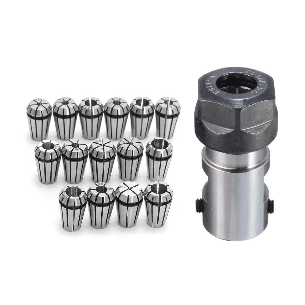 ER11A 5mm Extension Rod Holder Motor Shaft Collet Chuck Tool Holder for CNC Mill