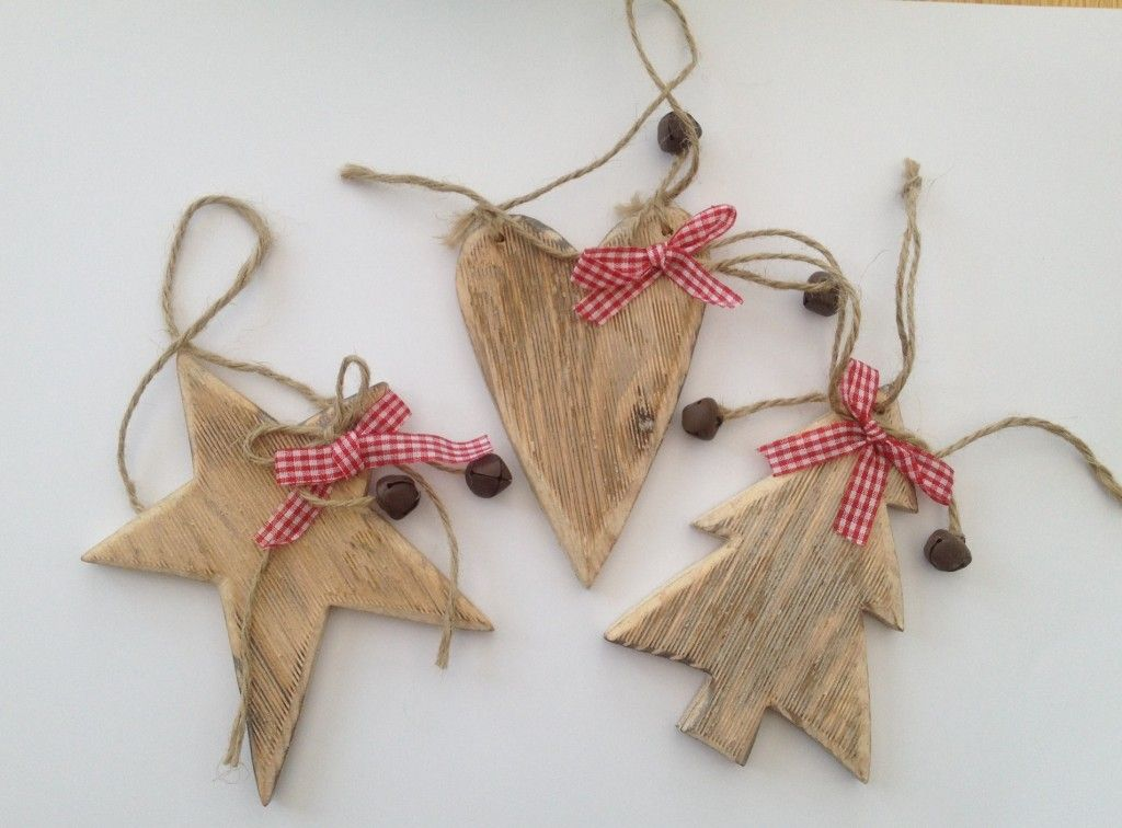 Nordic wooden christmas decorations - The Supermums Craft Fair
