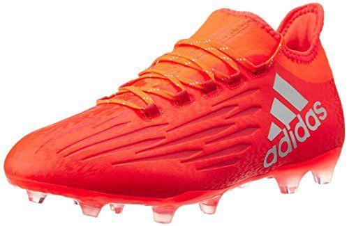 adidas Herren X 16.4 Fxg Fußballschuhe, Rot (Solar Red/Silver Met,/Hi-Res Red), 46 2/3 EU
