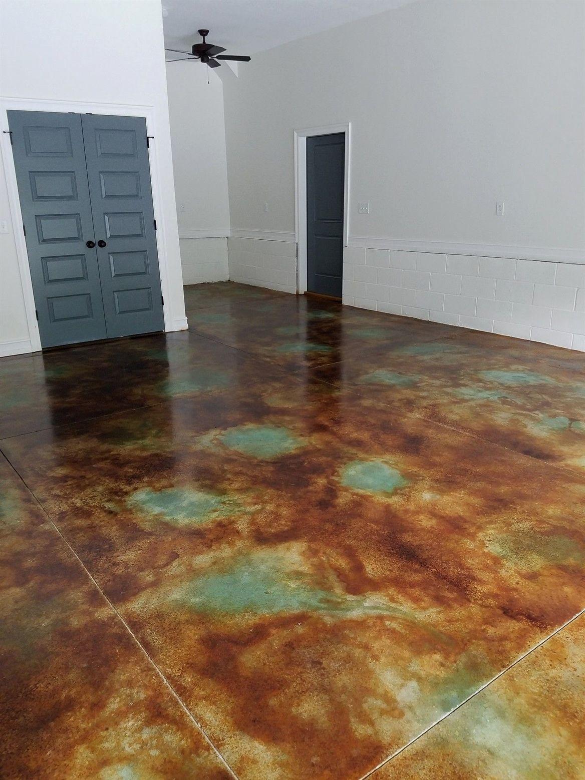 Acid Stain Concrete Garage Floor Mycoffeepot Org