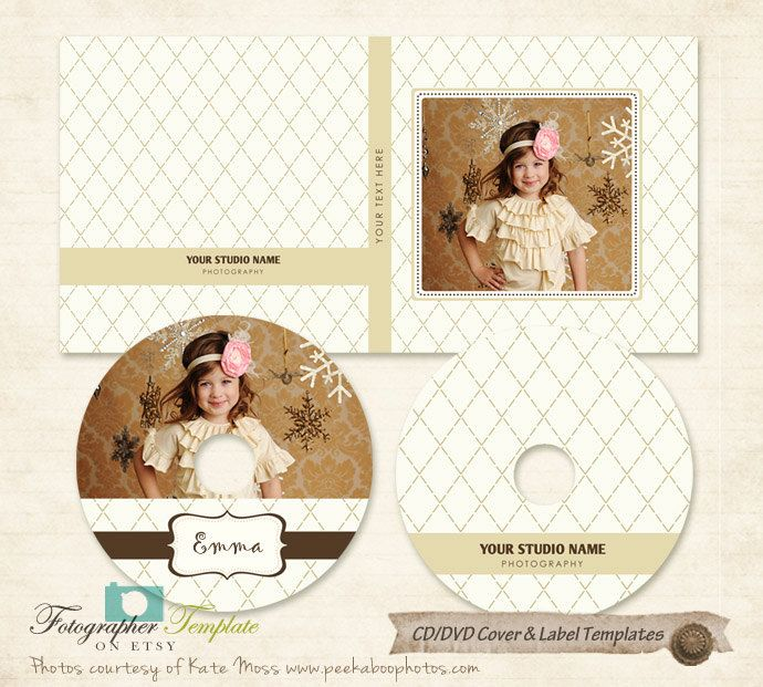 Cd Dvd Label And Cover Templates  Photoshop Templates For