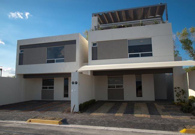Fachadas de casas modernas mexicanas arquitectura for Planos de casas modernas mexicanas