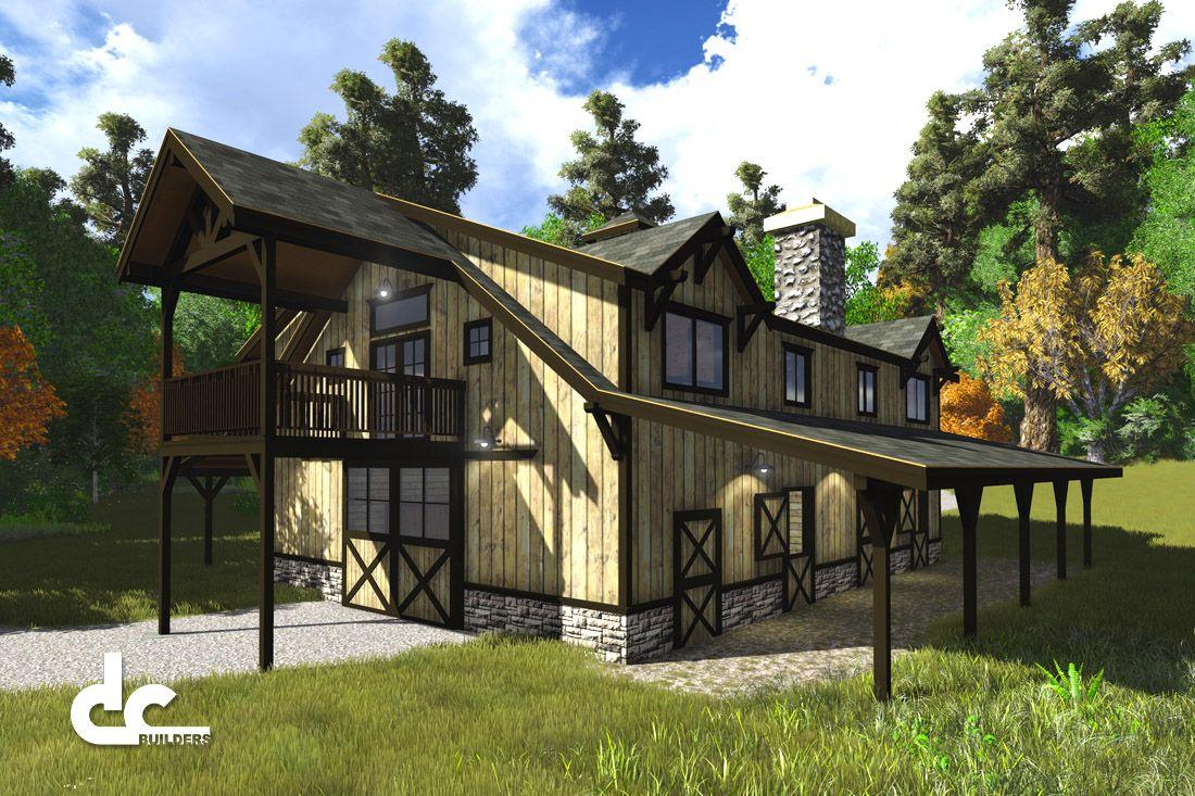 36u0027 X 48u0027 Barn With Living Quarters Floor Plans