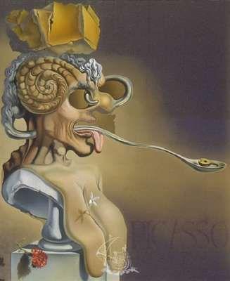 Picasso, par Salvador Dali