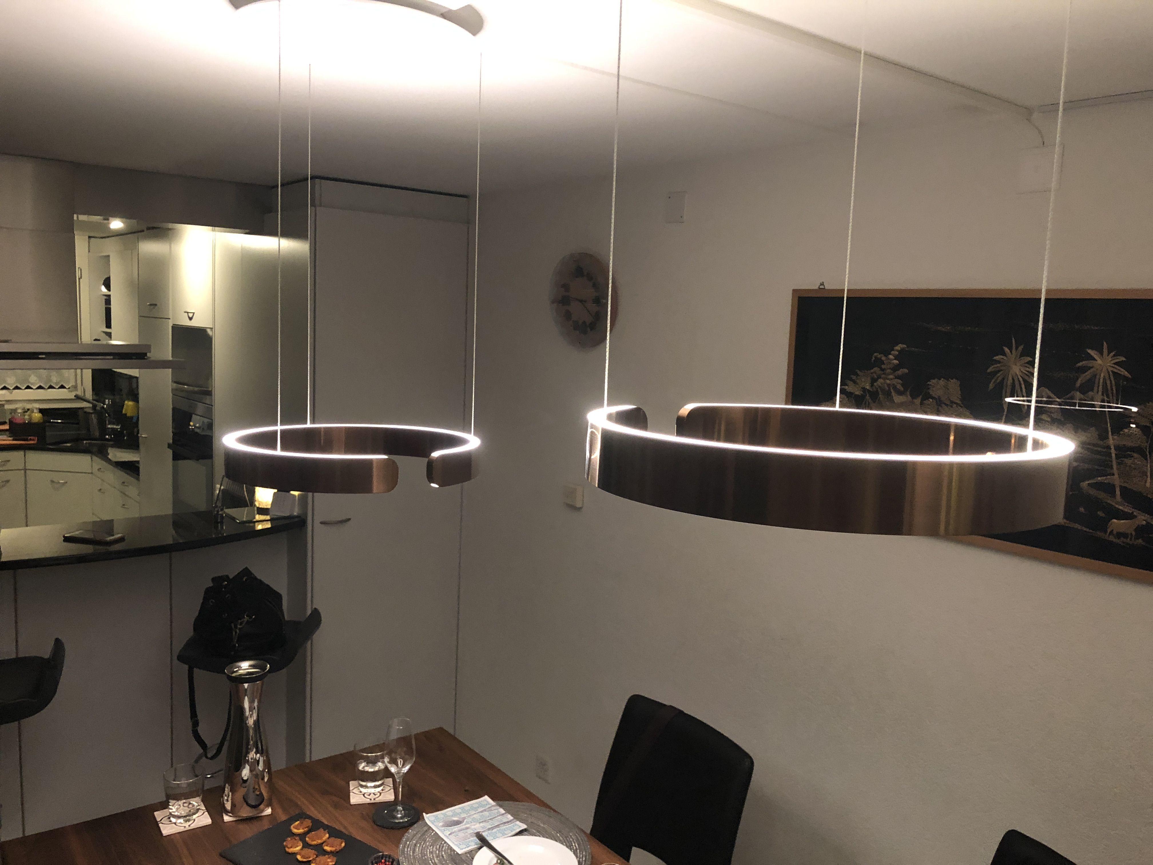 Occhio Mito Due 40 Rose Gold Fancy Hauser Wandbeleuchtung Lampe Esstisch