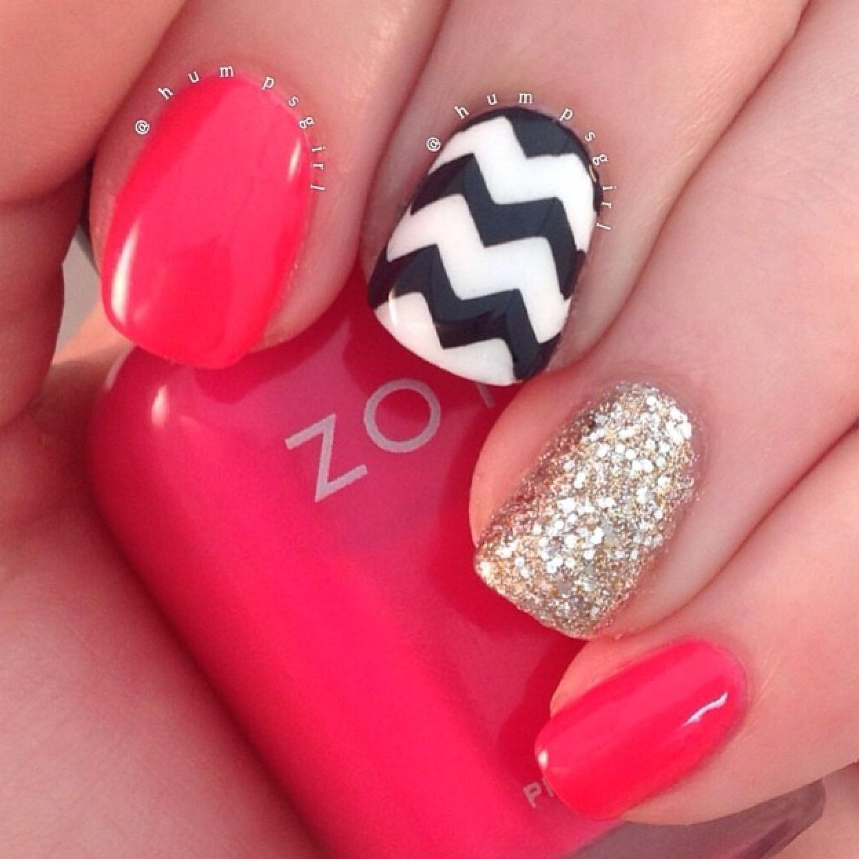One of my fave go to manis inspired by Selena Dee!   Nails   Pinterest