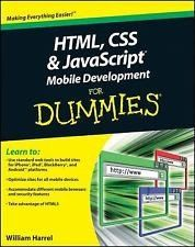 Html Css And Javascript Mobile Development For Dummies Stuff To