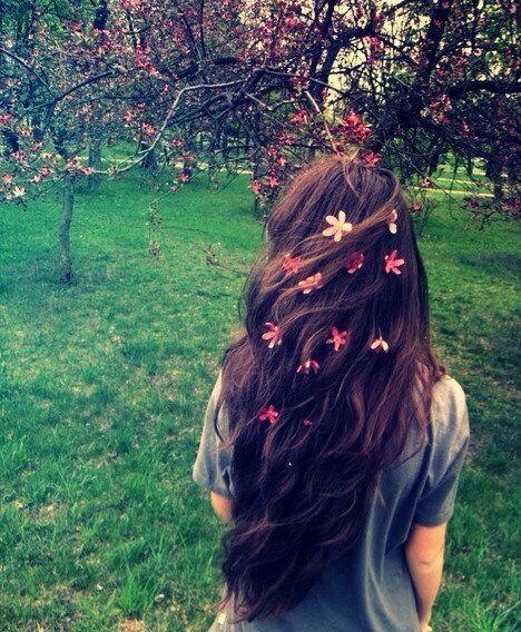 Pin On Wearing Flowers