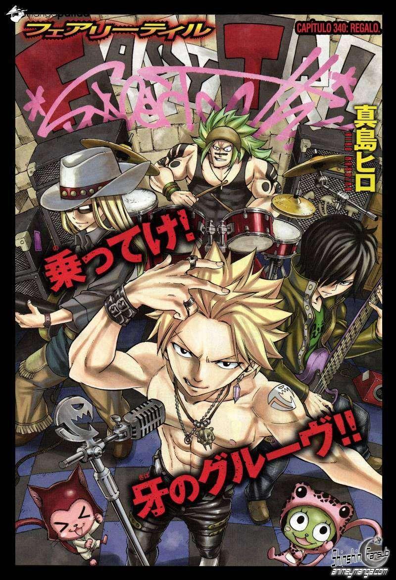 Manga Fairy Tail Capítulo 340 Página 2