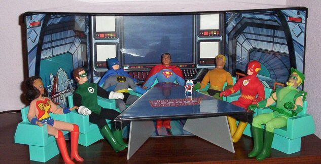 Justice League Playset Fr Mego Toys Retro Toys Vintage Toys Classic Toys
