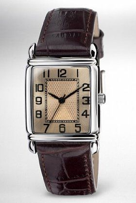 Square Face Analogue Vintage Watch Watch
