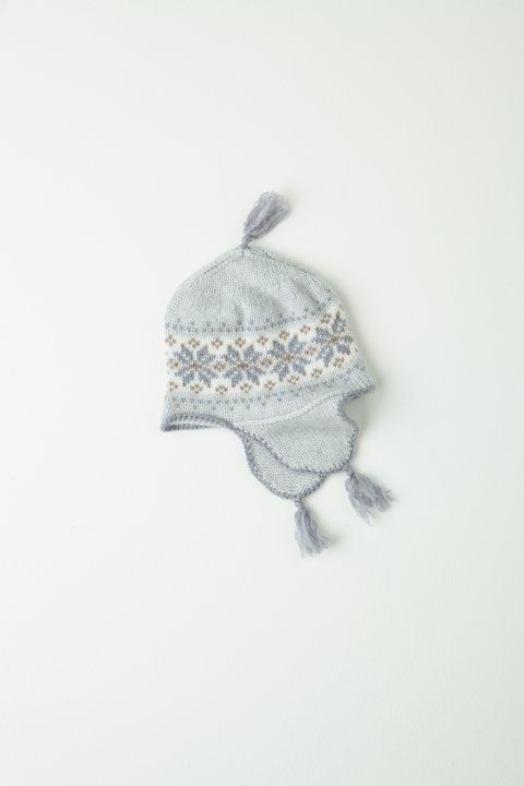 Cashmere Fair Isle Baby Hat In Potash | Baby | Pinterest | Baby ...