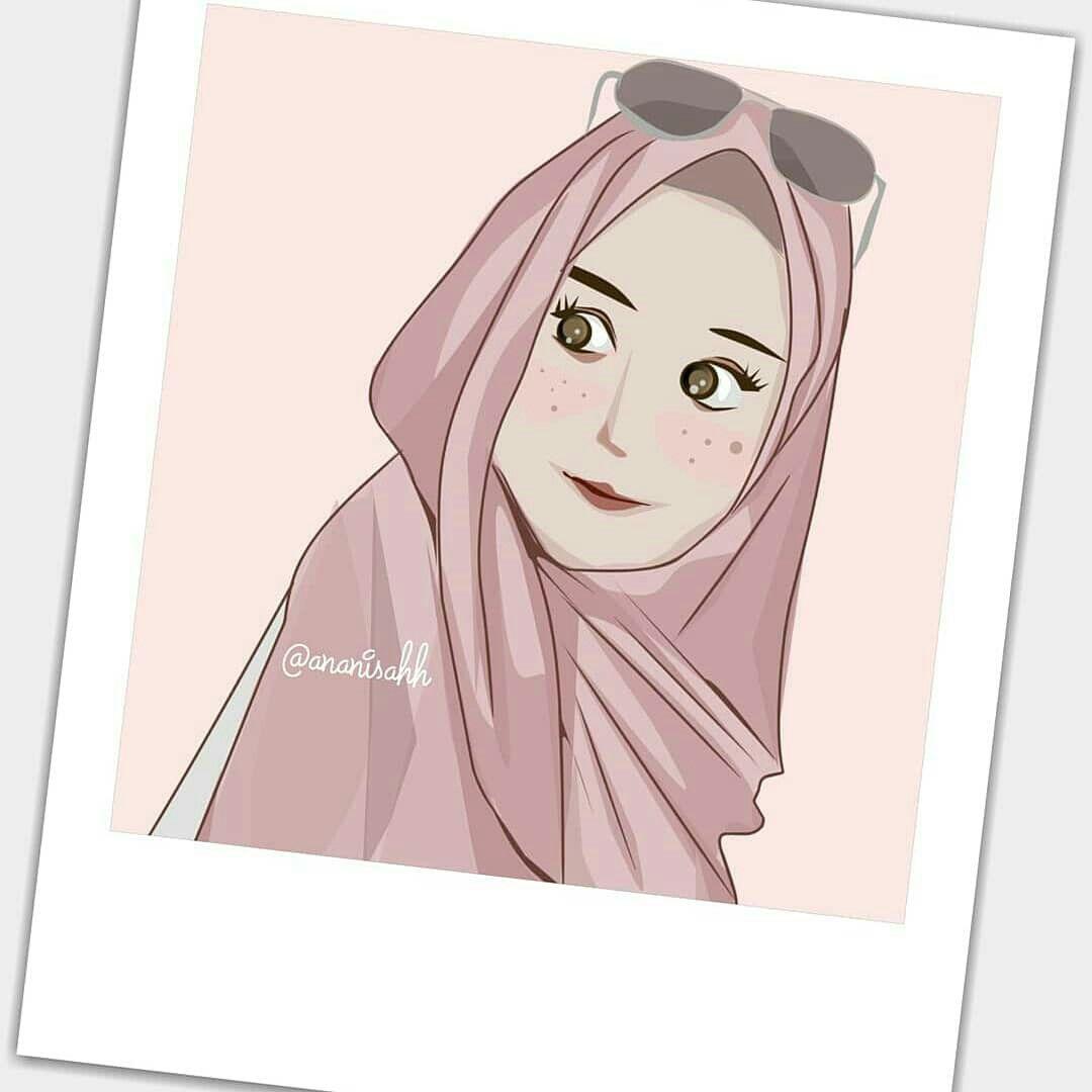 Ide Oleh Ananisahh Pada Kartun Muslimah