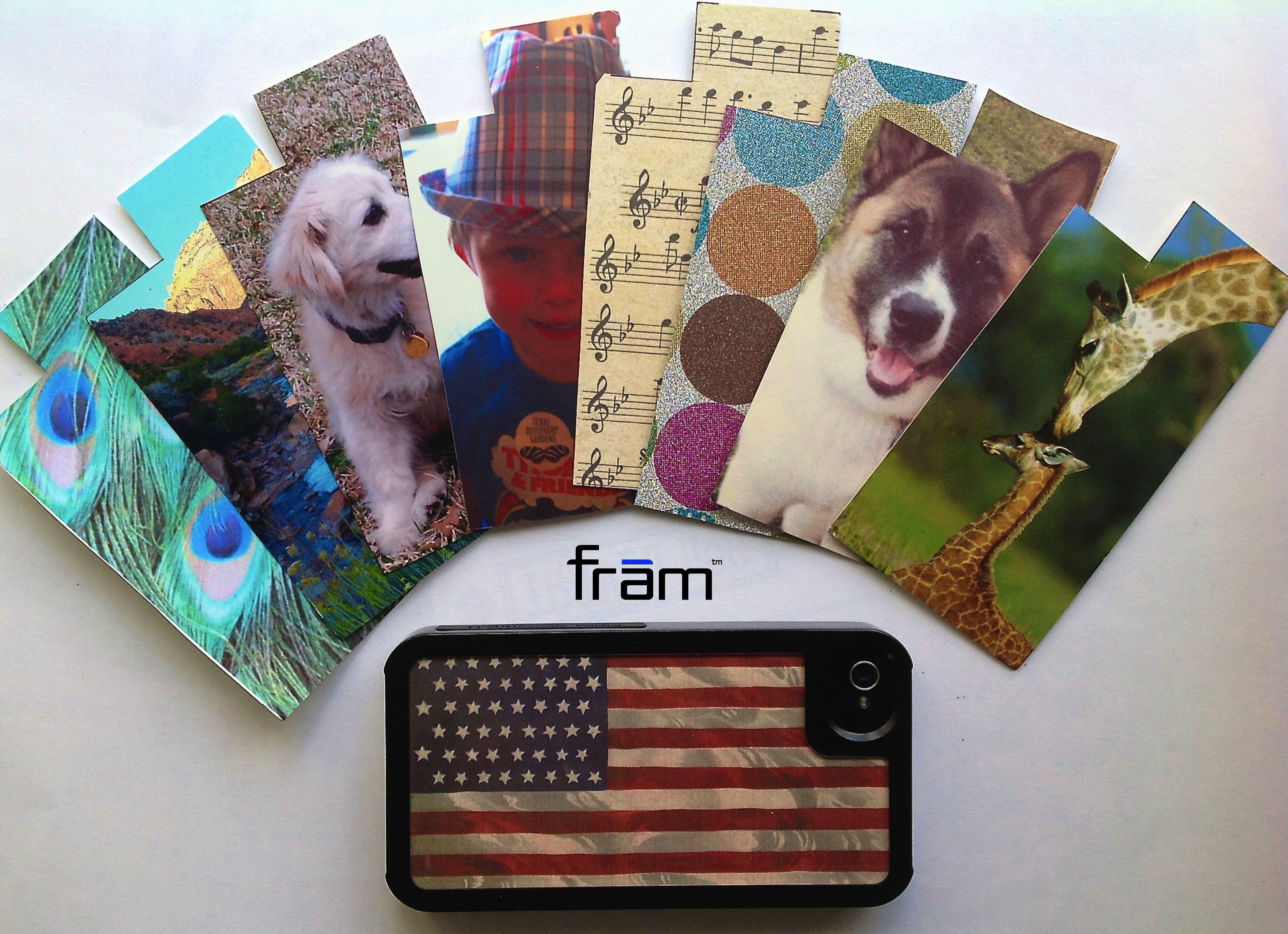 A new frām custom iPhone case everyday - myFramArt.com