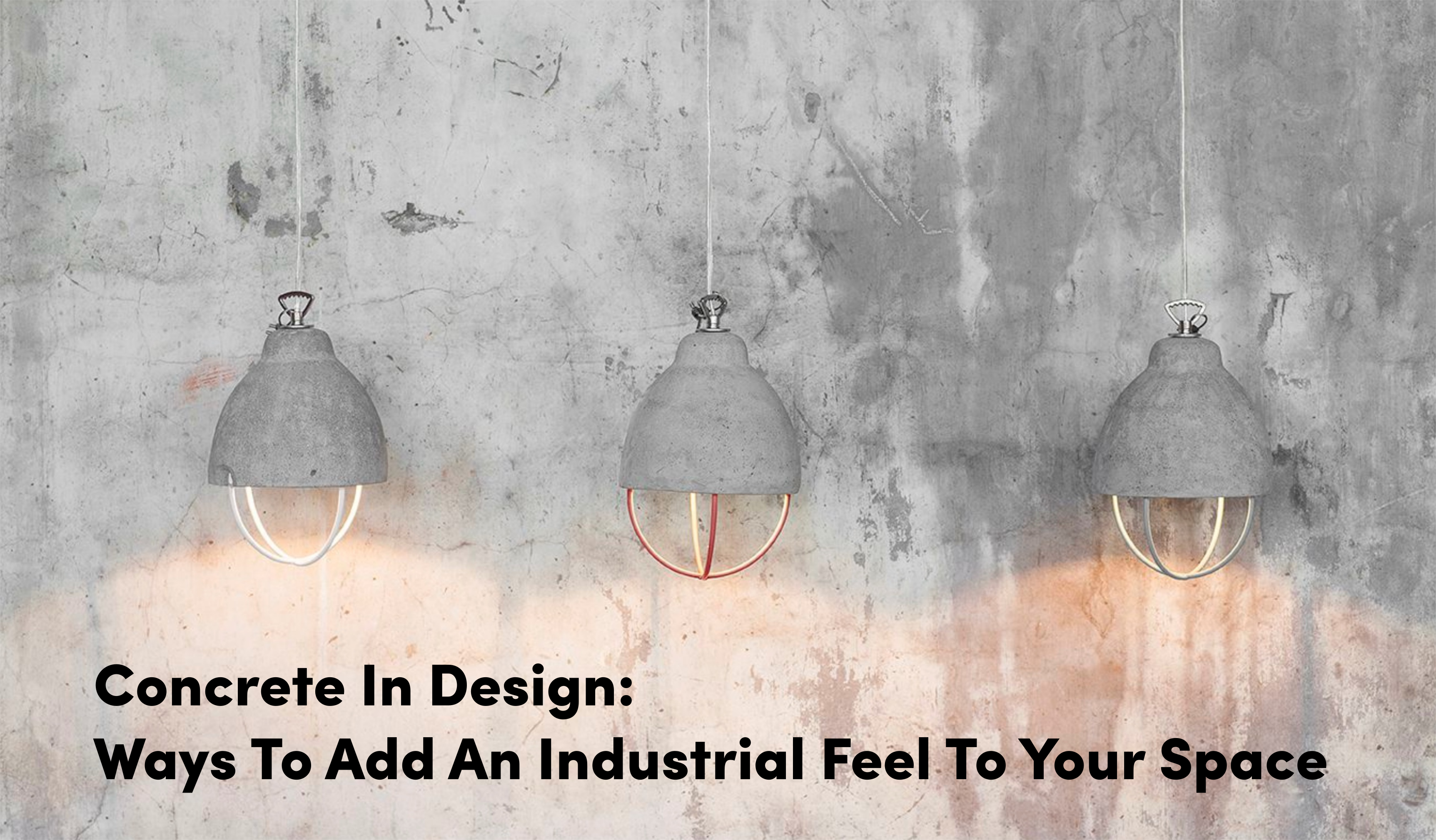 From concrete wine coolers to lamps to stools to pots, smaller accessories can be a great way to add an industrial vibe to your home. Its subtle sophistication and durable nature gives a sense of strength and boldness to any space.  #concrete #concretedesign #concreteobjects #mariemichielssen #thedesignpart