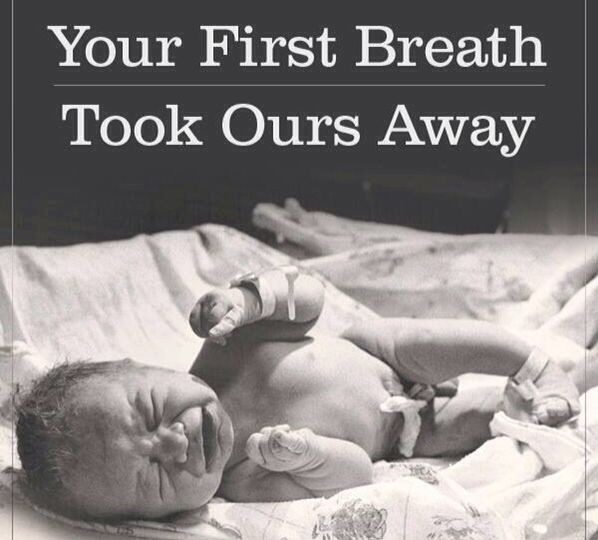 Your First Breath Took Ours Away Being Mommy Pinterest