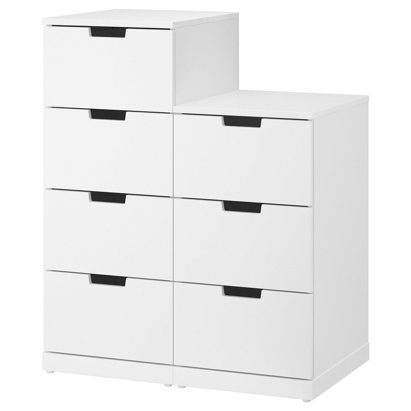 Nordli Comoda De 7 Cajones Blanco 80x99 Cm Ikea In 2020 7 Drawer Dresser Dresser Drawers Chest Of Drawers [ 1400 x 1400 Pixel ]