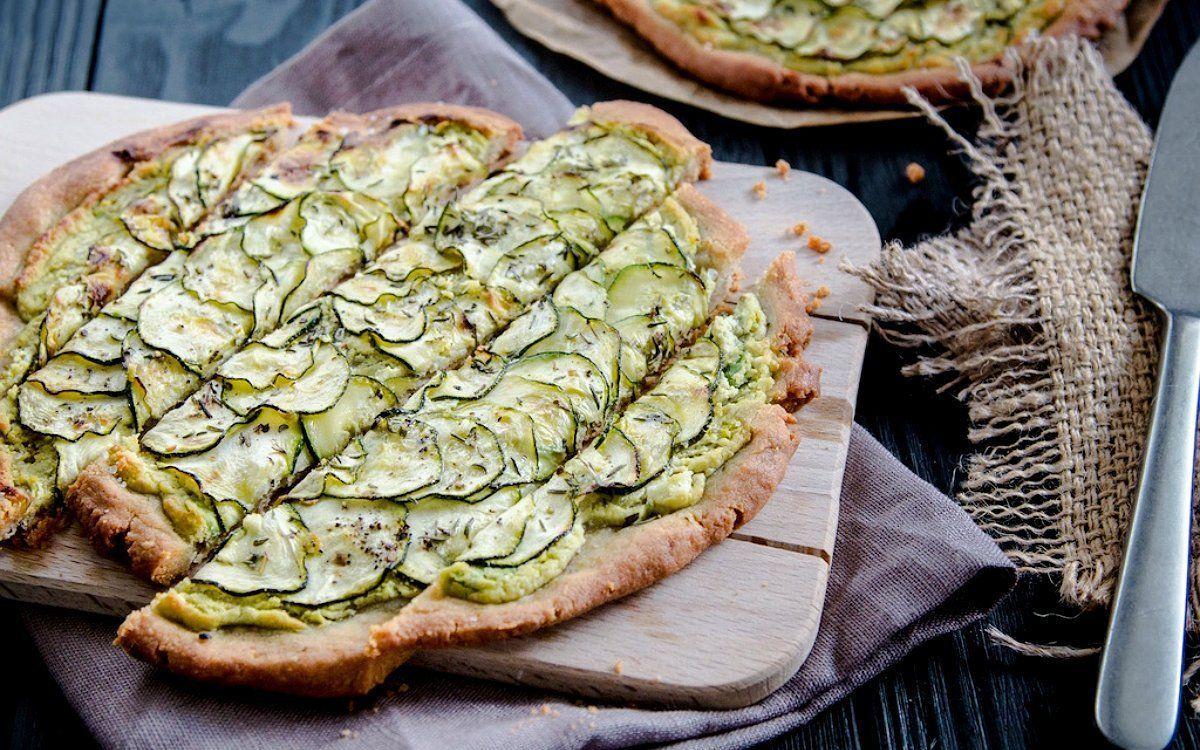 Пирог из цукини и творога | Рецепт | Пирог из цукини, Идеи ...