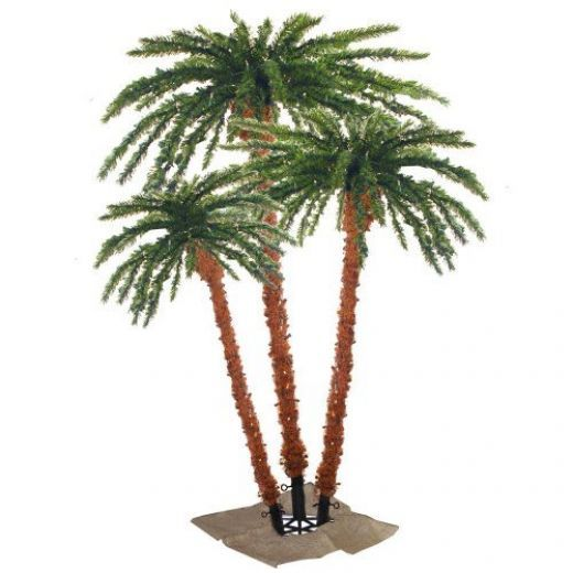 Lighted Palm Trees Christmas Palm Tree Palm Trees Artificial Tree