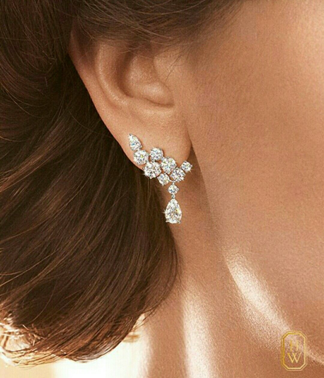 8d70525388 Dazzling yet simple | Bijoux | Jewelry, Earrings, Diamond earrings
