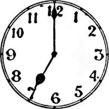 Common Core Time Grade Two Clock Clock Clipart Clip Art