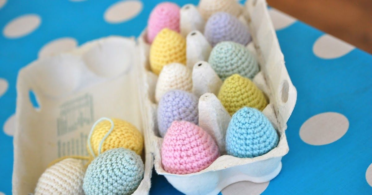 Just a little reminder of my crochet egg tutorial which can be found here . I find they are a good weight control remedy at this time of y...