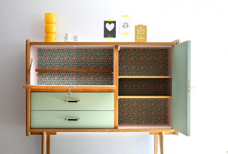 Meubles buffet_vintage_pieds_compas_elvis_4 rénovés p\u0027tit meuble