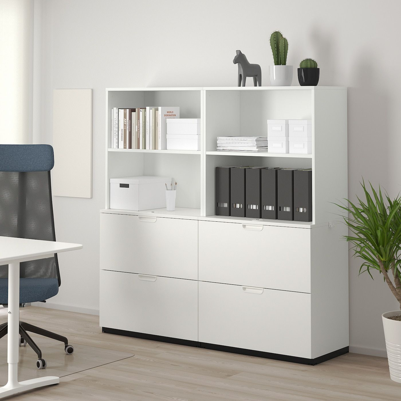 IKEA GALANT Storage combination with filing white in