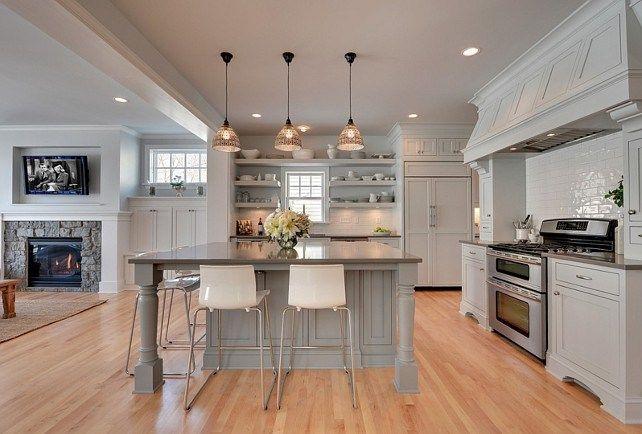 Gray Kitchen Open Concept Gray Kitchen Gray Kitchen Opens ...