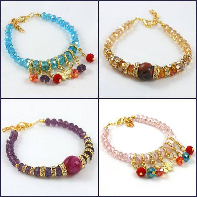 Suze likes, loves, finds and dreams: Giveaway: 4 Beautiful Bracelets