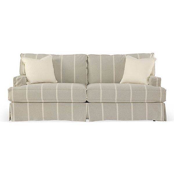 "Shabby Chic Standard 84"" Queen Sleeper Sofa Gray Sleepers €2 935"
