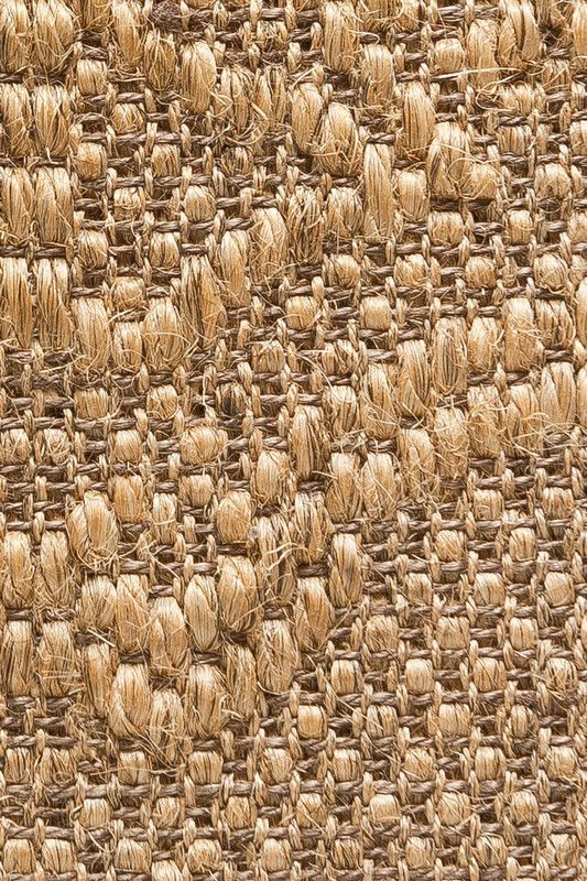 Nasturtium Weave Sisal Rug In Fog Colorway By Merida