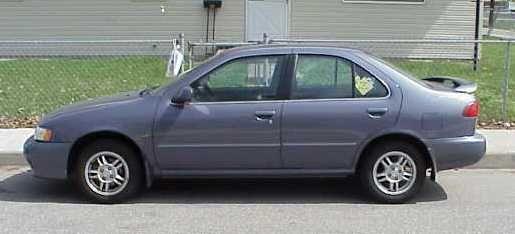 1999 Nissan Sentra Gxe Special Edition Nissan Sentra Car Door Cars